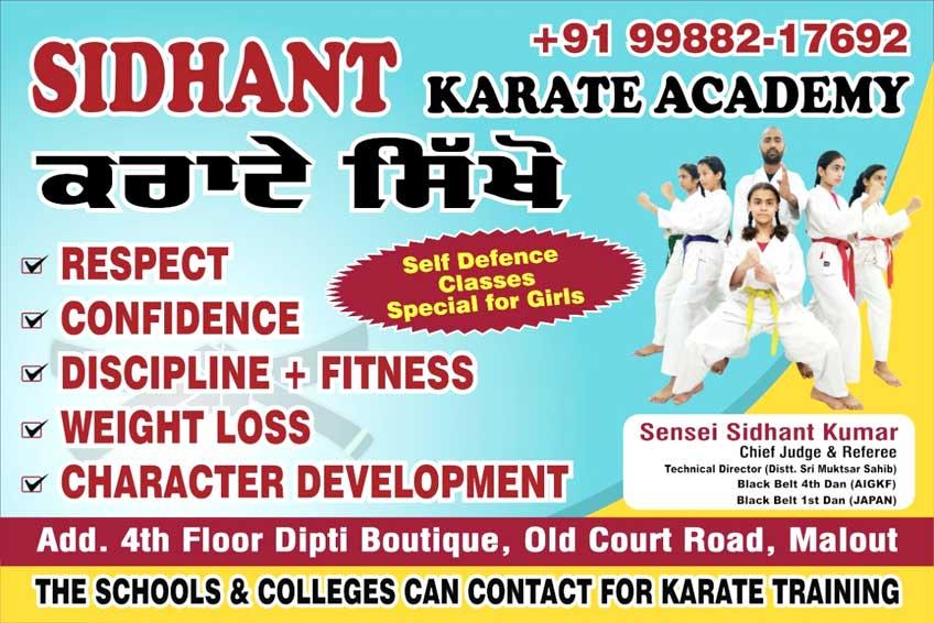 Sidhant Karate