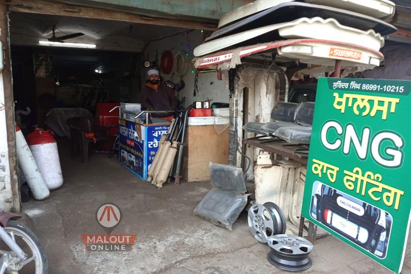 Khalsa CNG Car Fitting